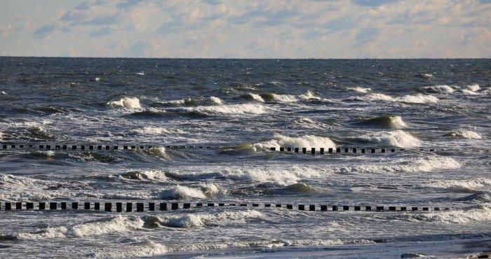 'pochmurny' poranek na plaży HAVET Hotel