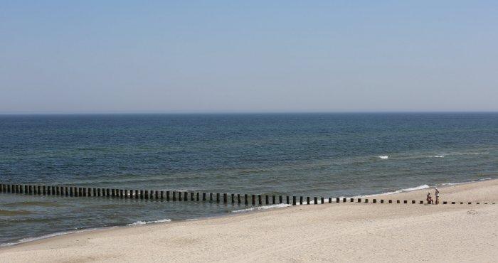 Zaczynamy słonecznie kolejny tydzień nad morzem