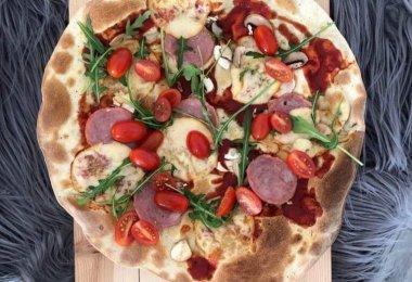 Podpłomyk, czyli pizza według Marcina Sikory