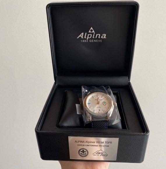 Zegarek podarowany przez TOPR