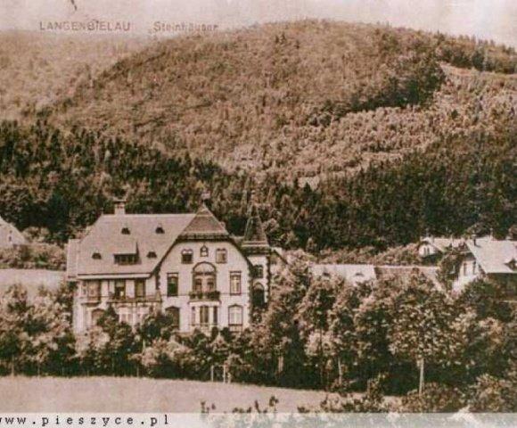 Bau der Villa