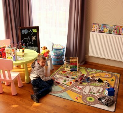 Children-friendly hotel