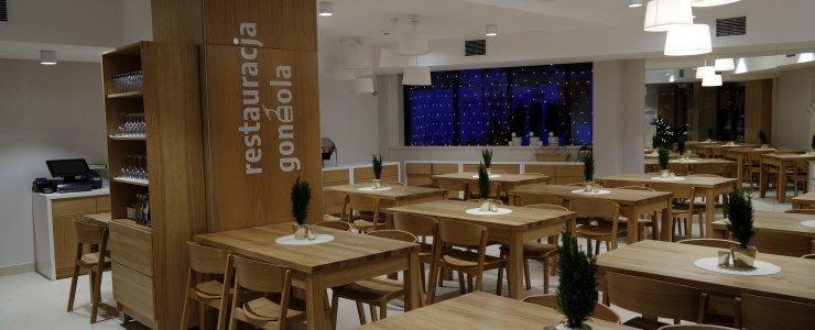 Nowa Restauracja Gondola w Hotelu Jaworzyna Krynicka