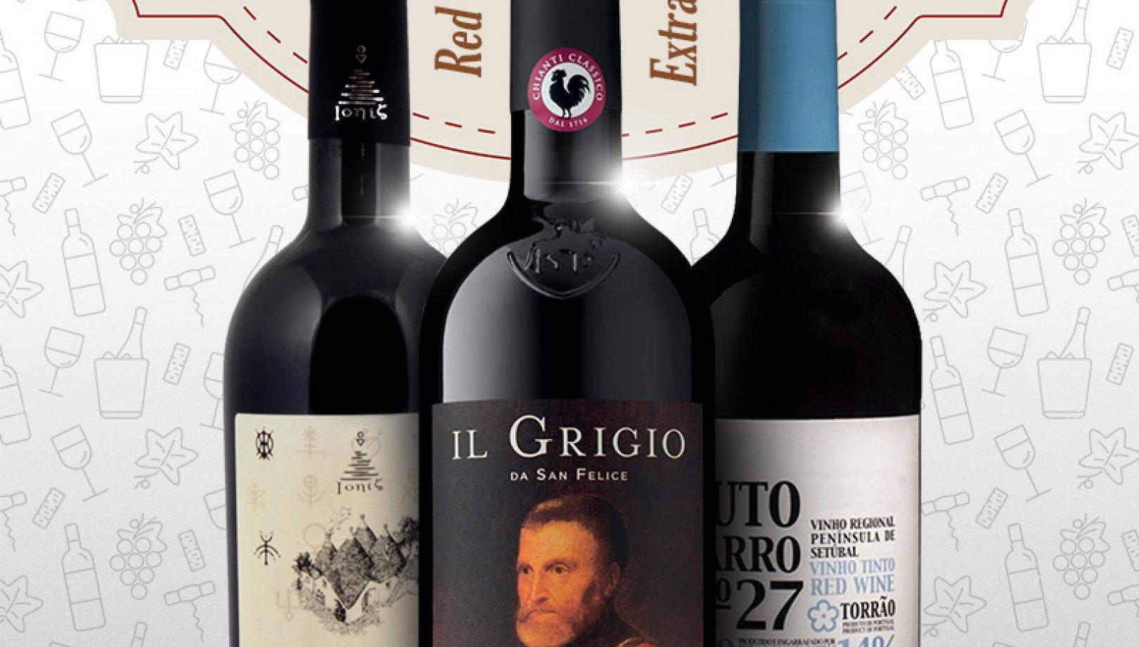 Ekstra ceny naszych czerwonych win