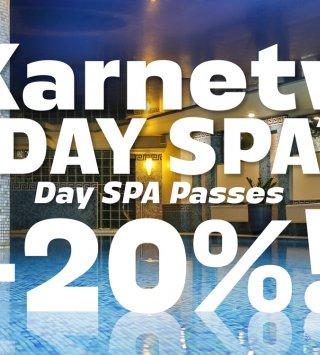 Karnety DAY SPA -20%