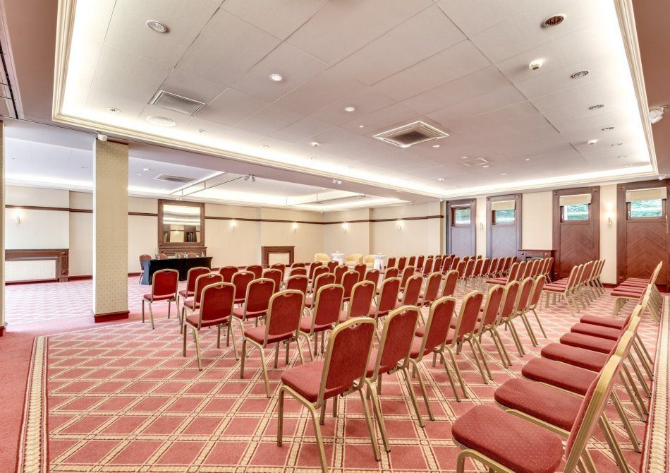 Spacious conference rooms