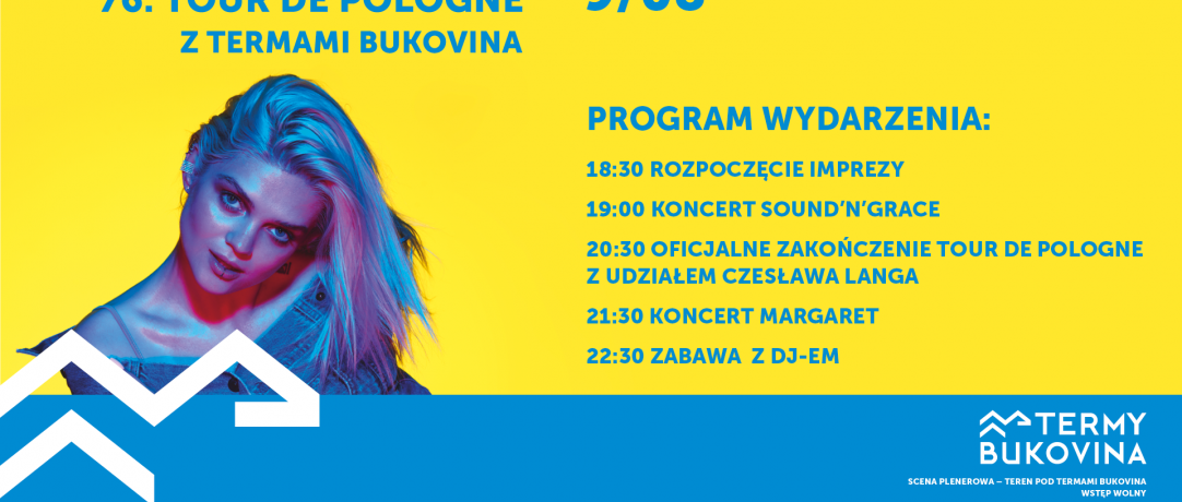 ZAKOŃCZENIE 76 TOUR DE POLOGNE Z TERMAMI BUKOVINA