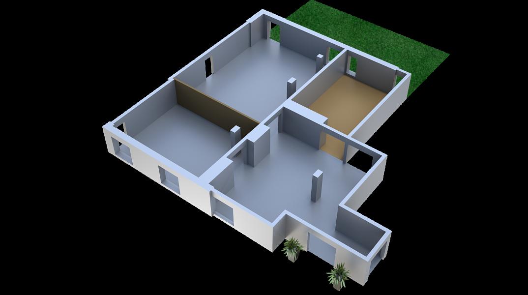 Sala Sopot 44 m²