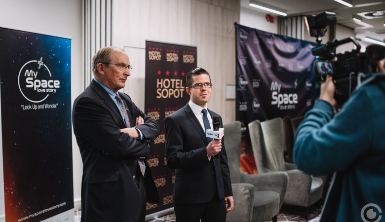 Konferencja o kosmosie My Space Love Story