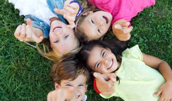 Children's day photo report
