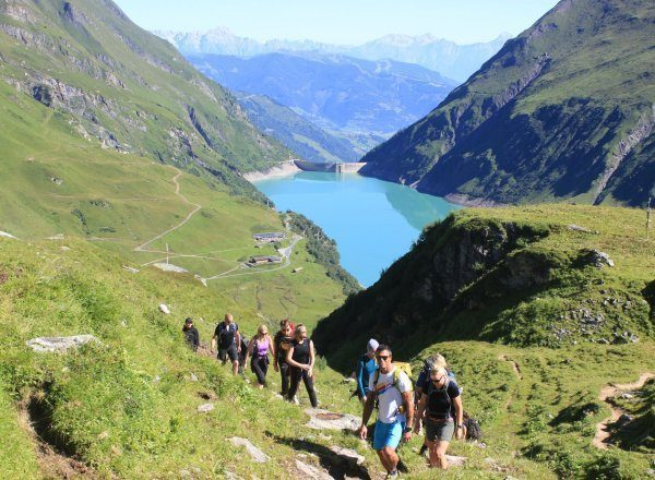 The pass trip – The first leg of the Glockner hike