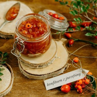 Savour health – rowanberry jam!