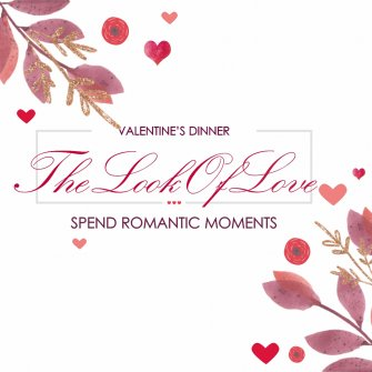 """The Look Of Love"" - dinner for two!"