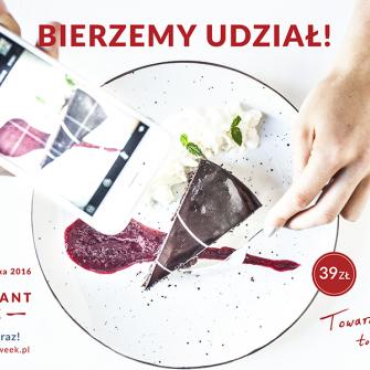 Zapraszamy do udziału w kolejnej edycji festiwalu Restaurant Week!