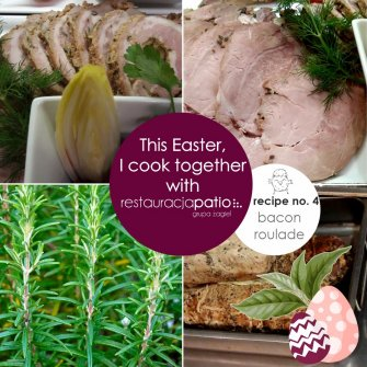 This Easter, I cook together with Patio Restaurant ☺ - recipe no. 4