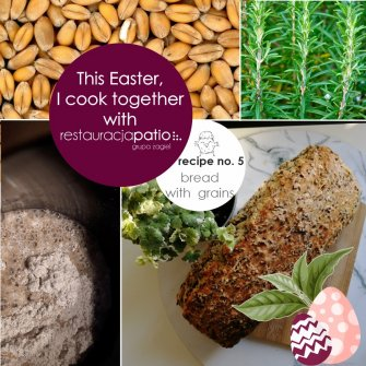 This Easter, I cook together with Patio Restaurant ☺ - recipe no. 5