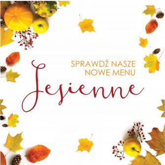 Dary jesieni w naszej karcie!