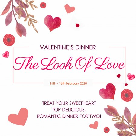 Valentines 2020 in Patio Restaurant