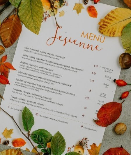 Autumn flavours in our menu!