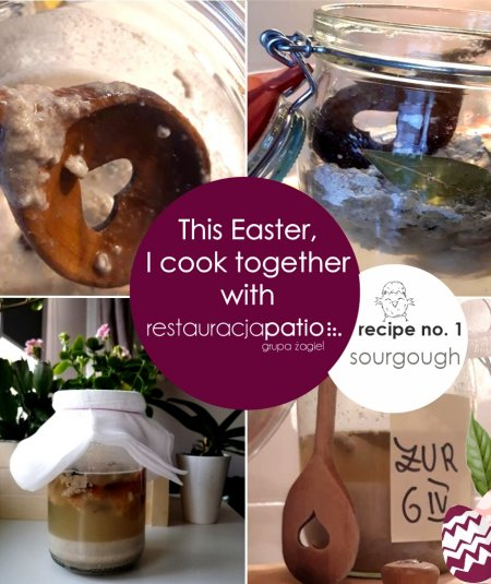 This Easter, I cook together with Patio Restaurant ☺ - recipe no. 1