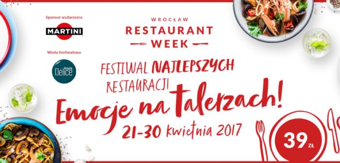 Emocje na talerzach - wiosenna edycja Restaurant Week!