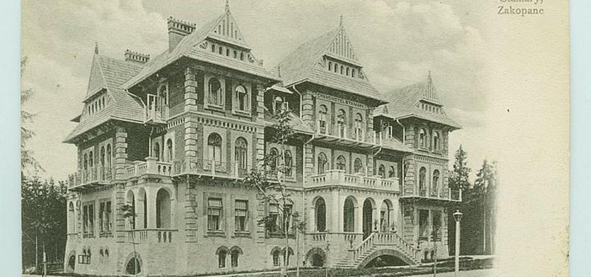 Historia Hotelu Grand Hotel Stamary Zakopane