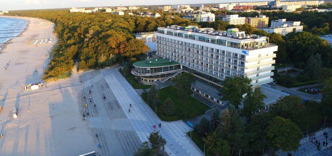 """Sanatorium """"Bałtyk""""<br>w Kołobrzegu"""