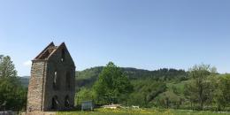 Ruiny dzwonnicy Terka
