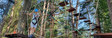 Park linowy Jawor w Polańczyku