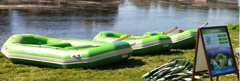 Spływy Pontonowe w Bieszczadach - Zielony Ponton
