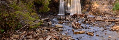 Wodospad Ostrowskich