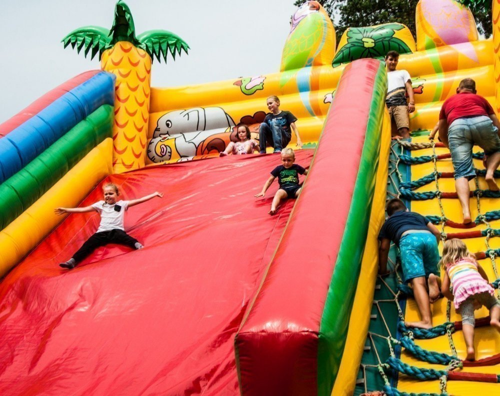 Mega Fun on Inflatable Constructions