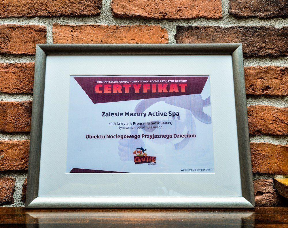 GUFIK SELECT Certificate