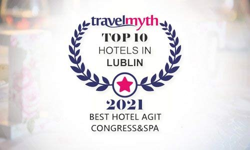 AGIT ranked among Lublin's TOP 10 hotels