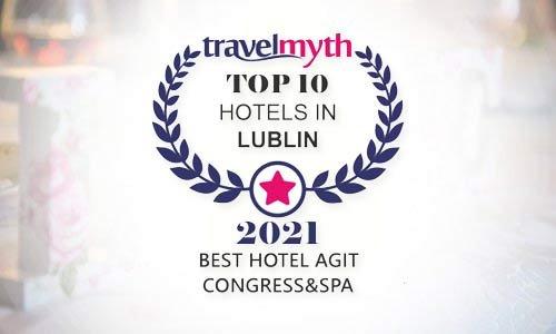 AGIT w TOP 10 hoteli w Lublinie
