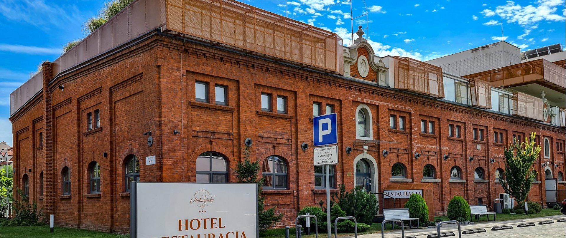 Antonińska to o wiele więcej niż hotel i restauracja