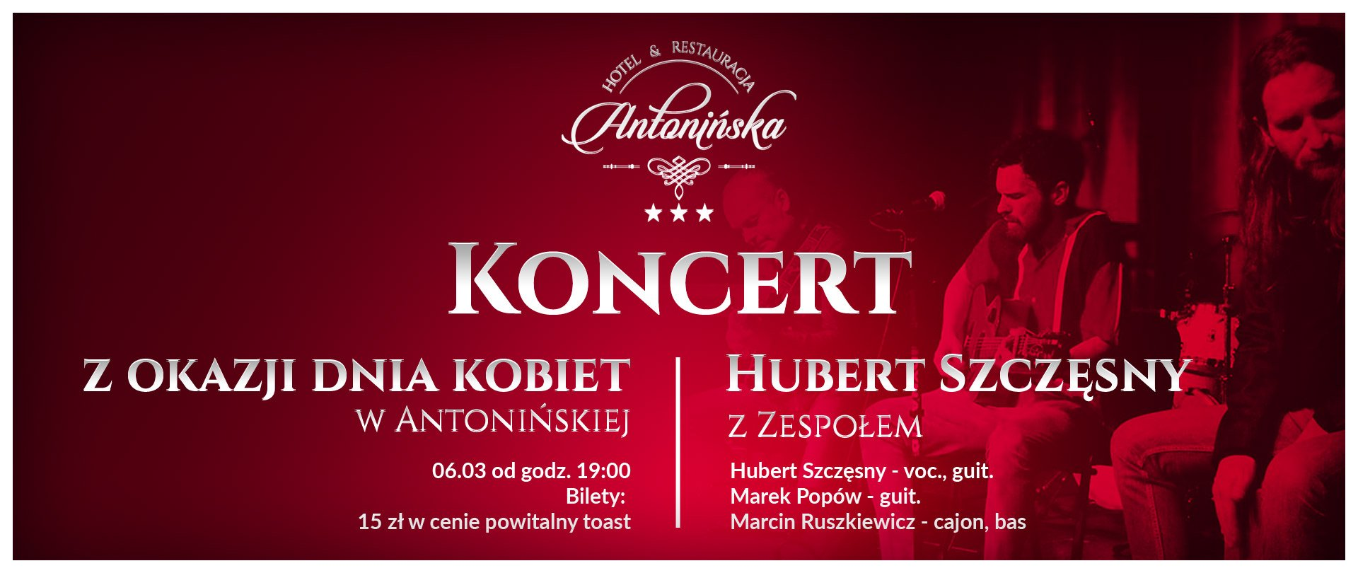 International Women's Day Concert - Hubert Szczęsny with band