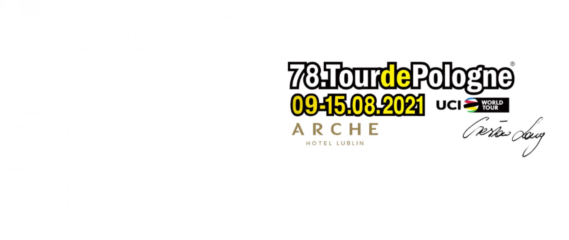 Arche Hotel Lublin Partnerem I etapu 78. Tour de Pologne