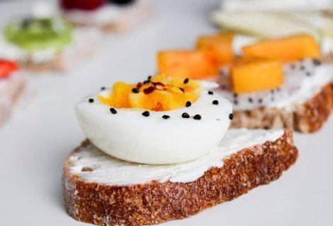 śniadanie w królewskim stylu