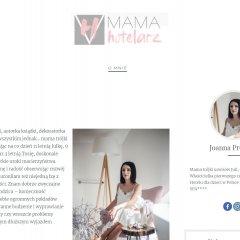Mama-Hotelarz – wystartował blog Joanny Preisner