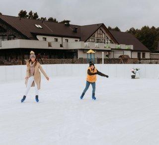 Jak zima to i lodowisko w Bacówce!