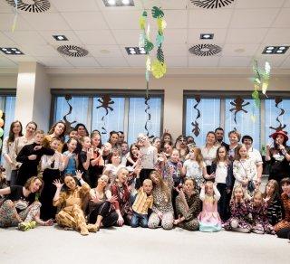 Fundacja Iskierka hucznie świętowała karnawał