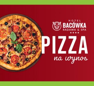 Zamów pyszną pizzę z Bacówki na wynos!