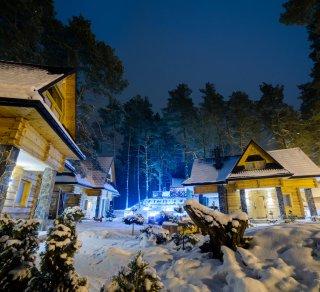 Zima w Bacówce