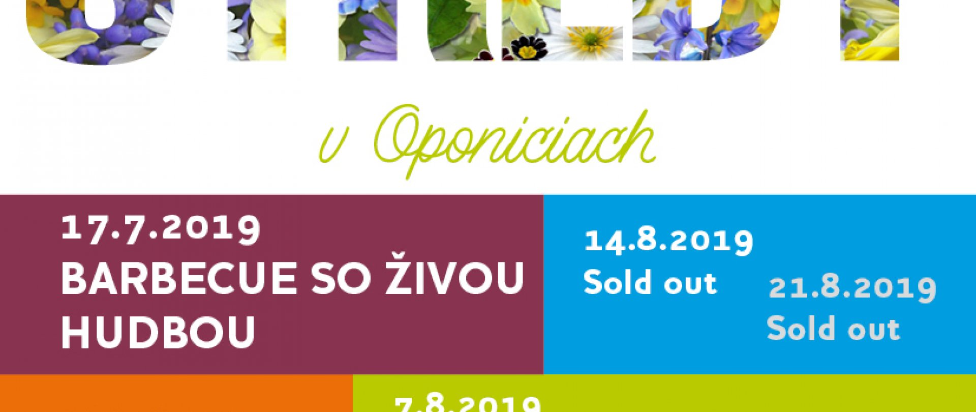 Letné stredy v Oponiciach