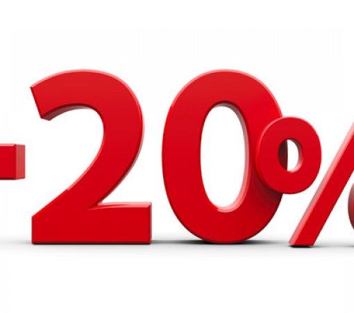 Last Minute - 20%