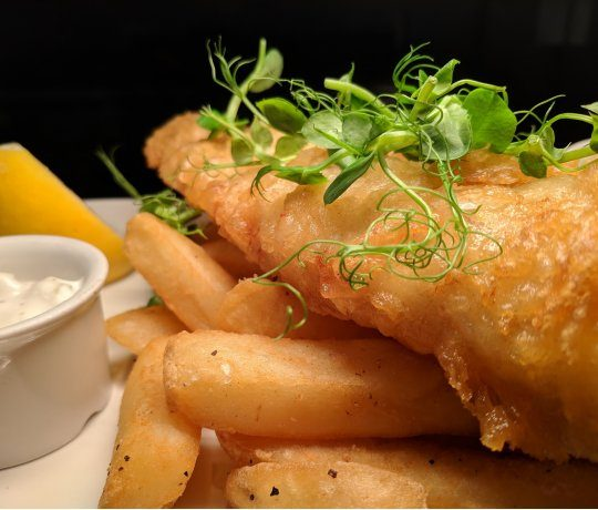 Fish and chip shop Wielki Błękit – 10% discount