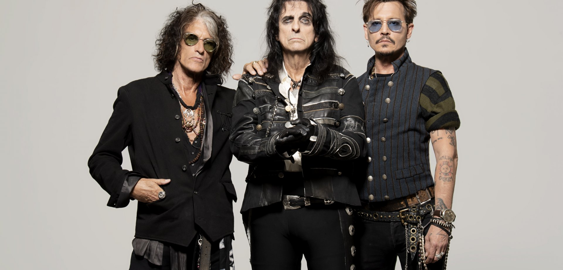 Hollywood Vampires, czyli Alice Cooper, Joe Perry i Johnny Depp