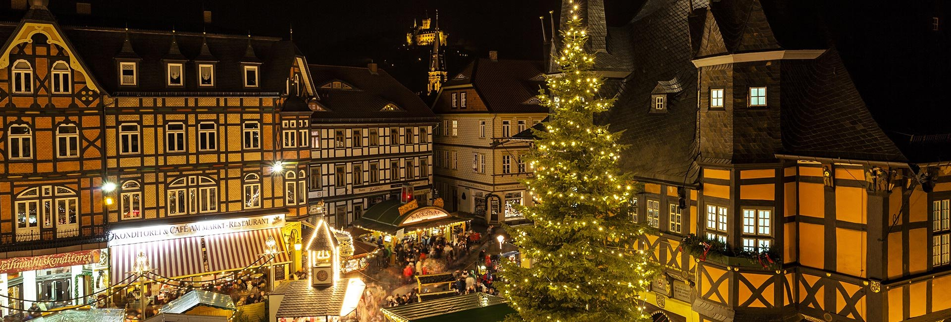 Rammelsberg Weihnachtsmarkt.Christmas Time In Wernigerode And Surroundings