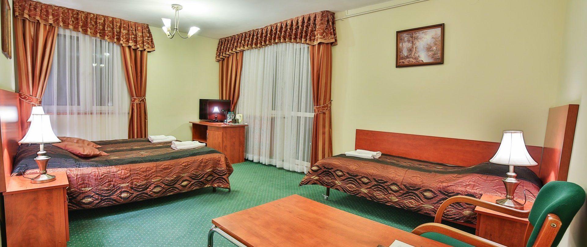 pokój 3-osobowy typu Deluxe